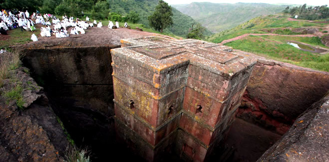 Lalibela- The 8th wonders of world